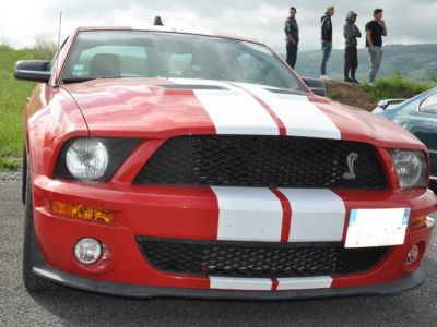 Run 2016 Belmont sur Rance Mustang GT 500 Shelby